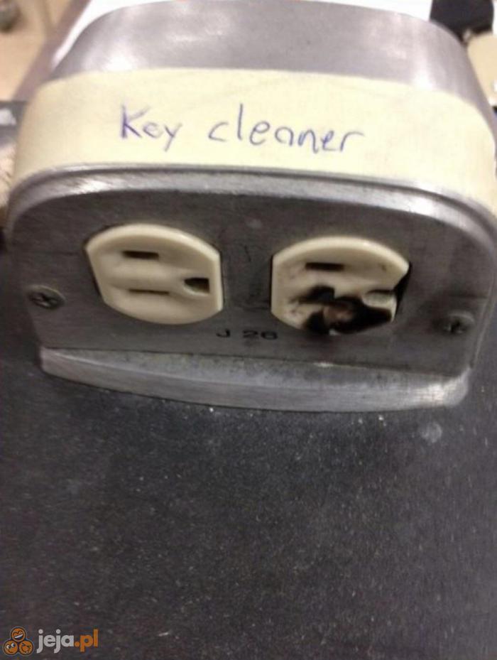 Czyszczenie kluczy