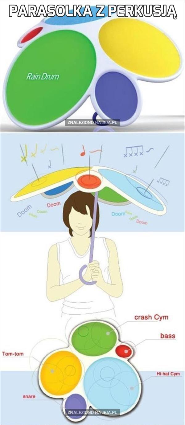 Parasolka z perkusją