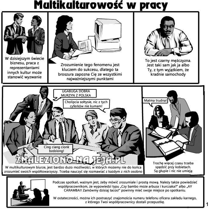 Multi-kulti w pracy