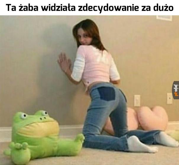 Biedna żaba