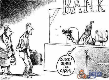 Napad przez bank