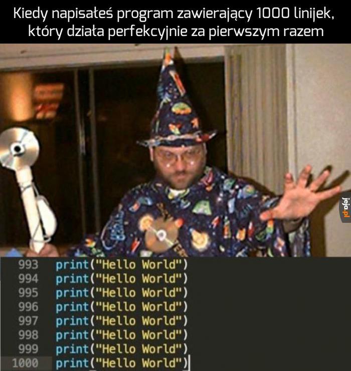 Czarodziej programowania
