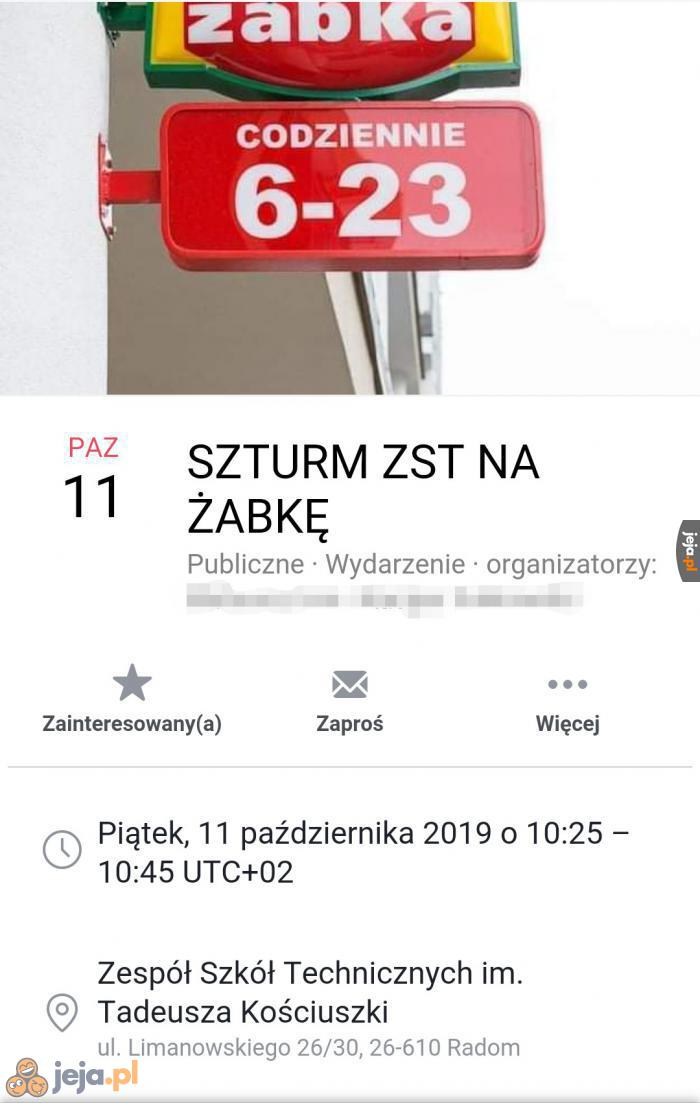 Szturm na strefę 51 na miarę Polski