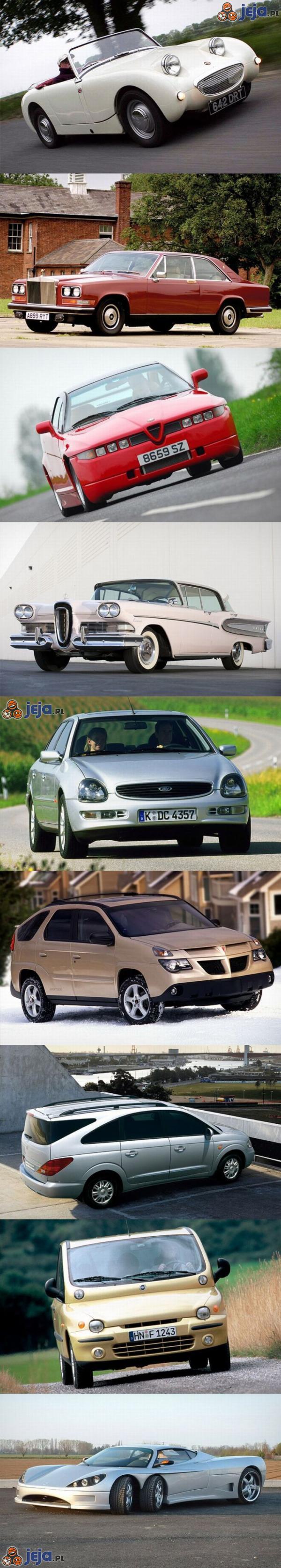 Najbrzydsze samochody w historii