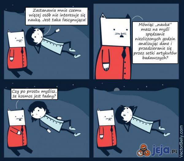 Nauka to nie tylko ładne gwiazdki