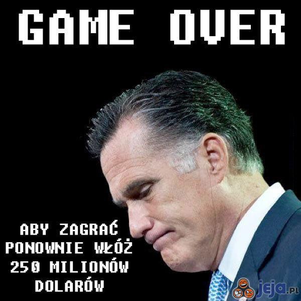 Przegrana Romneya