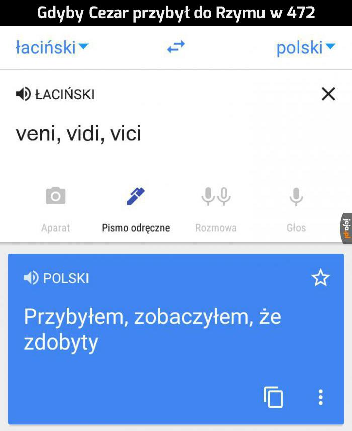Google Tłumacz pisze memy