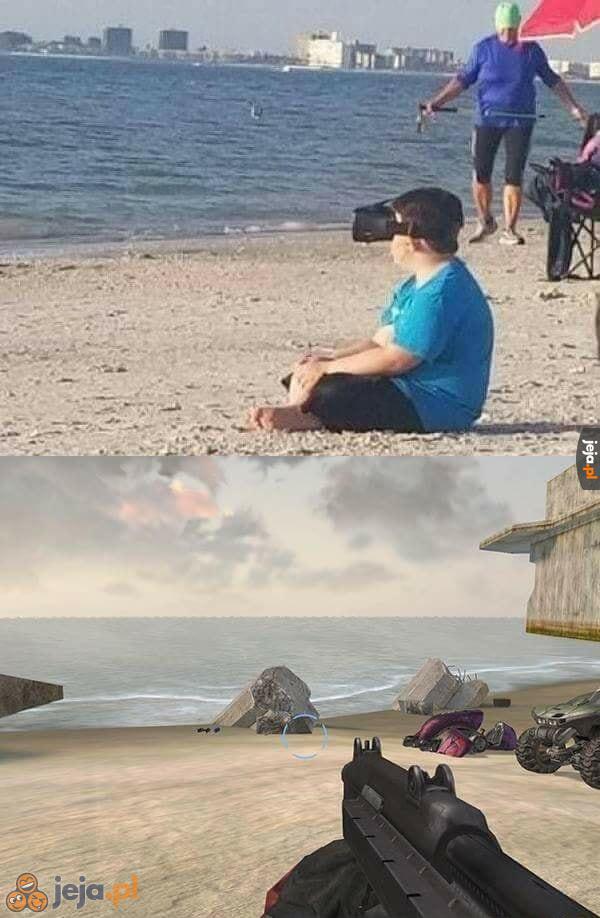 Zastosowanie VR