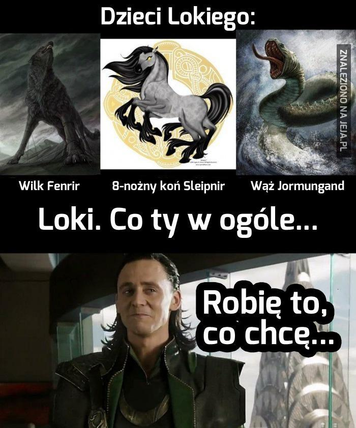 Masz wątpliwości, że z Lokim coś nie tak?