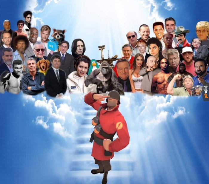 Zmarł Rick May, aktor głosowy żołnierza z Team Fortress 2