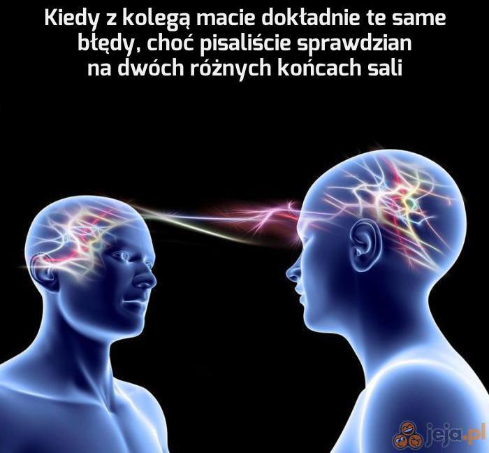 Geniusze myślą podobnie