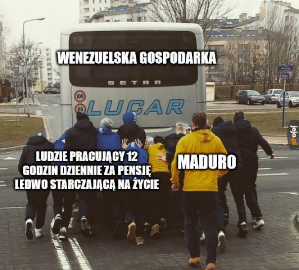 Tymczasem w Wenezueli...