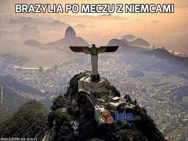 Brazylia po meczu z Niemcami