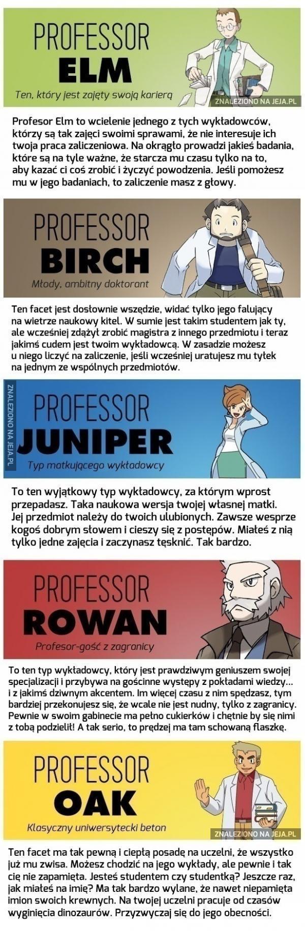Każdy student zauważy podobieństwa