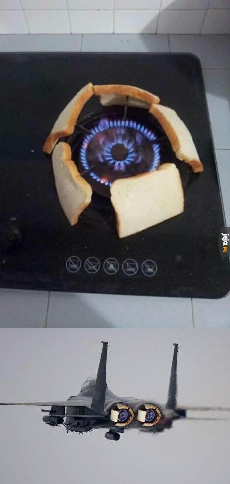Gdy nie masz tostera na chacie