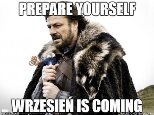 Przygotujcie się