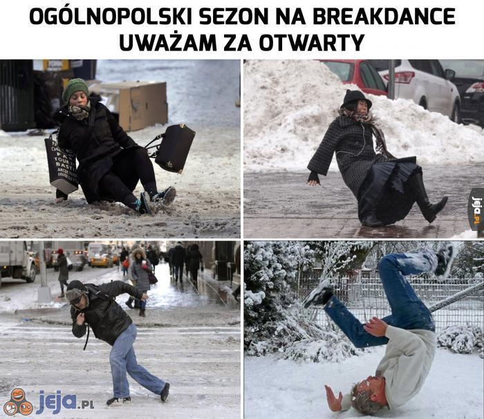 Sezon na breakdance