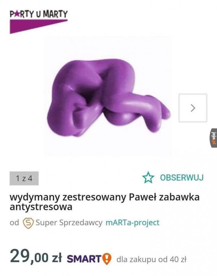Biedny Paweł...