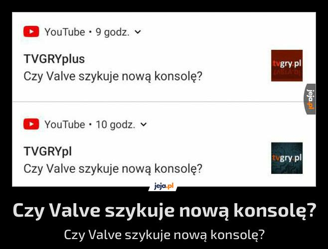 Czy Valve szykuje nową konsolę?