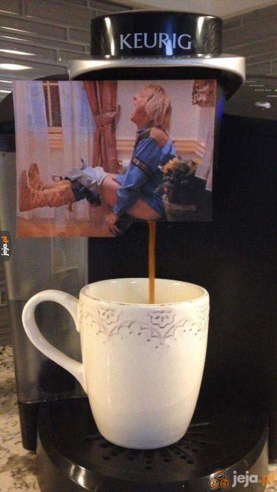 Oryginalny ekspres do kawy