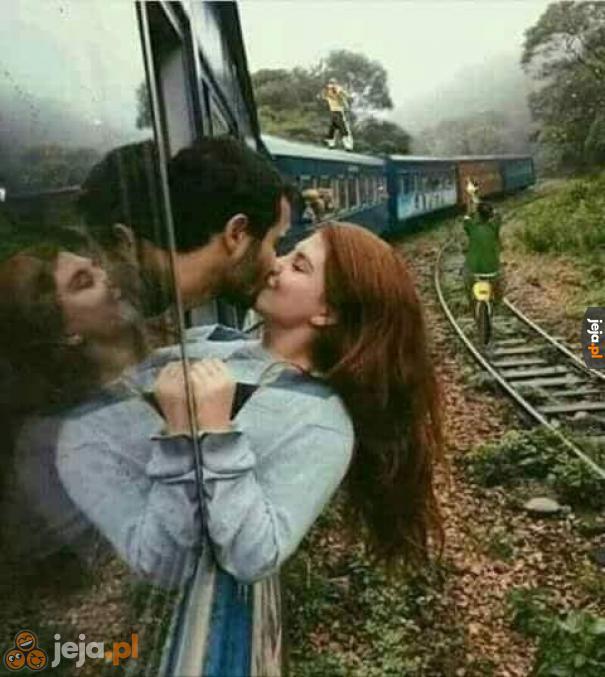 Romantyczne zdjęcie