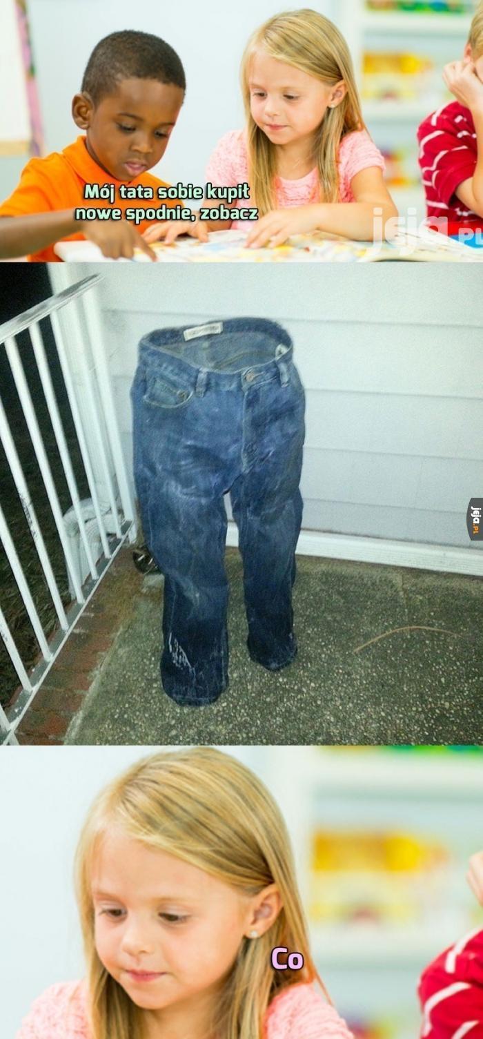 Nowe spodnie taty Jamala