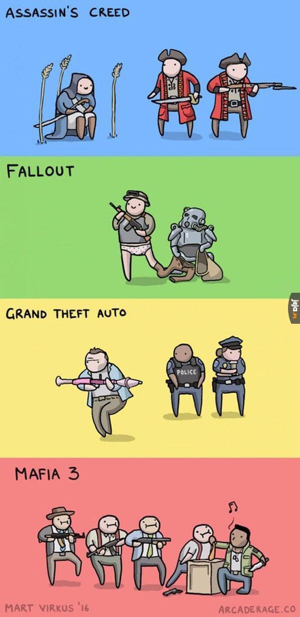 Logika w różnych grach