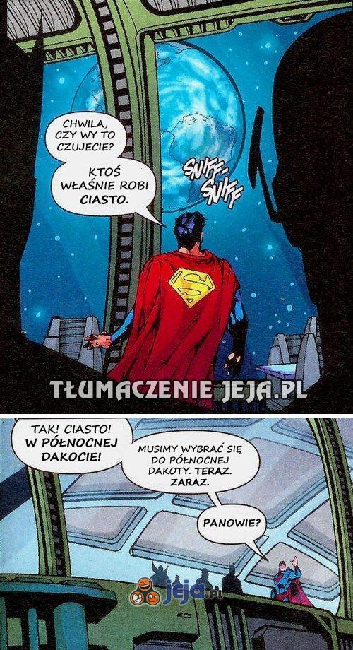 Superman ma swoje priorytety, niestety...