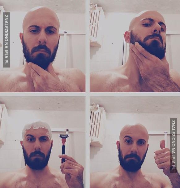 Jak prawdziwy mężczyzna powinien się golić