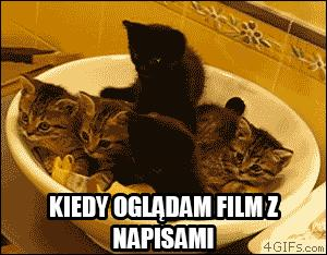 Kiedy oglądam film z napisami