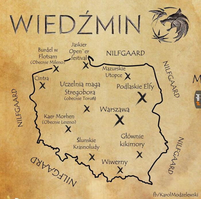 Polska w realiach Wiedźmina
