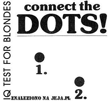 Test IQ - kropki