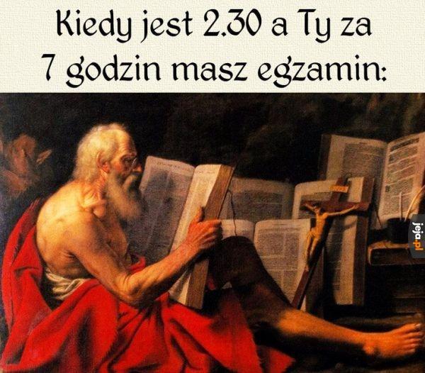 Nauka, nauka, nauka...