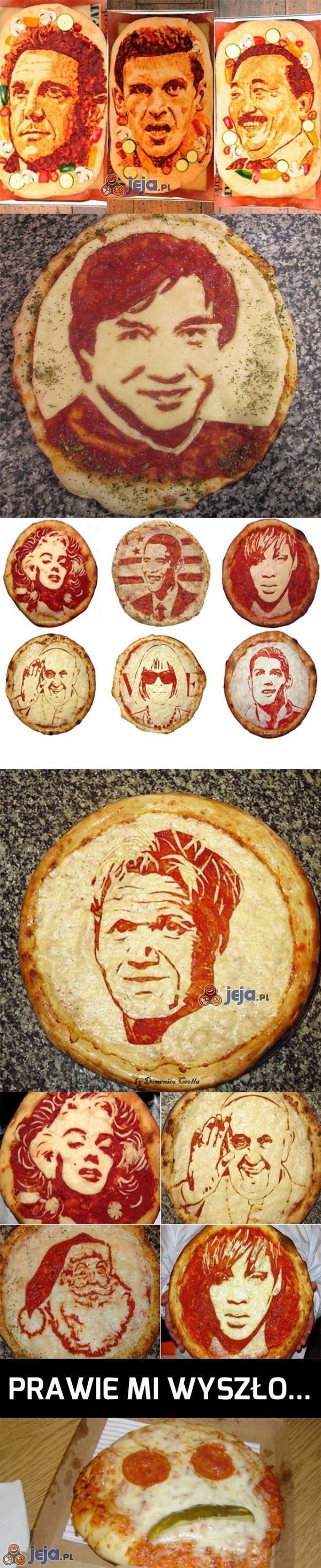Portrety na pizzy
