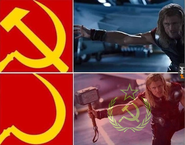 Thor obalił komunizm