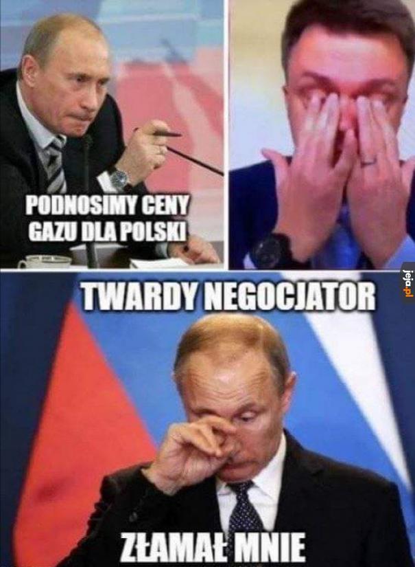 Tak obiektywnie patrząc to płaczący prezydent jest raczej niezbyt...
