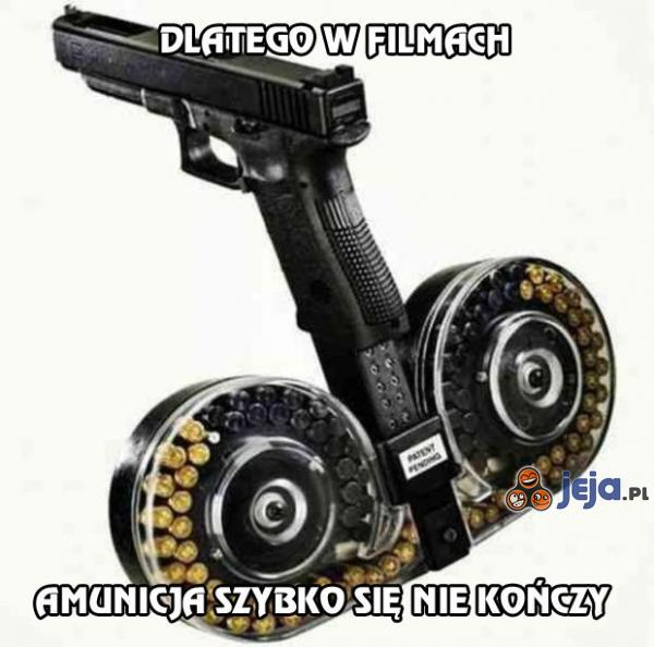 Sekret filmowej amunicji