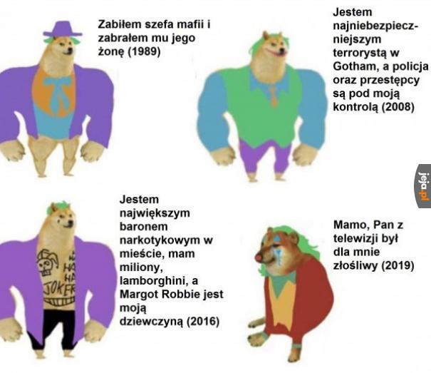 Porównanie Jokerów