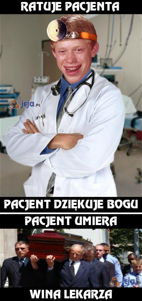 Lekarz nie ma łatwo