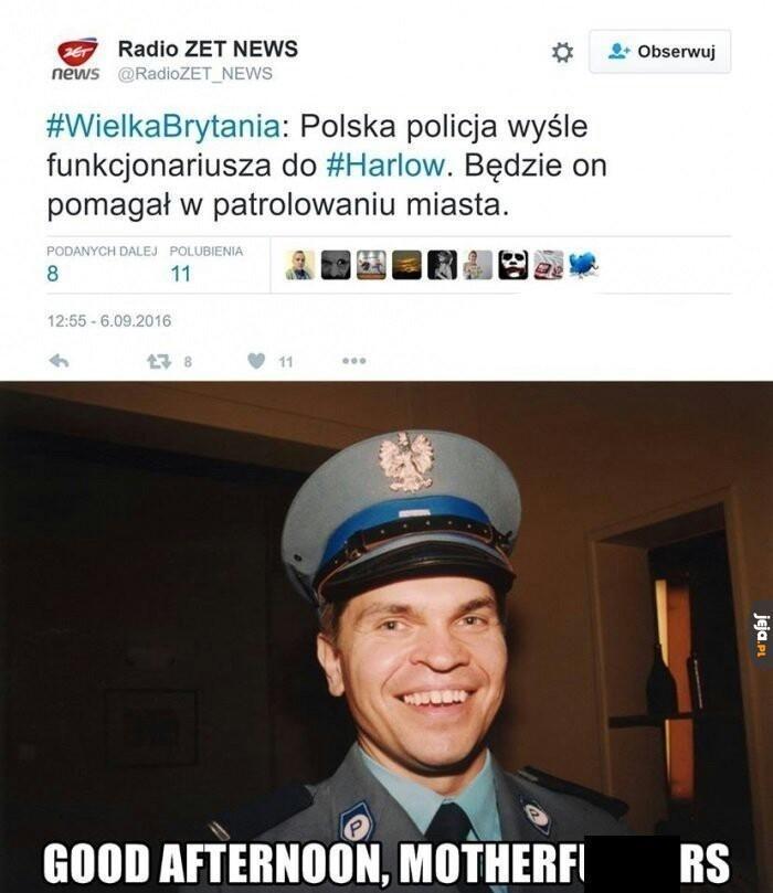 Groźny policjant