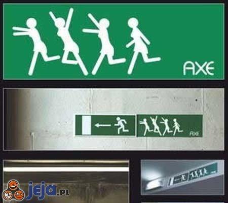 AXE exit...