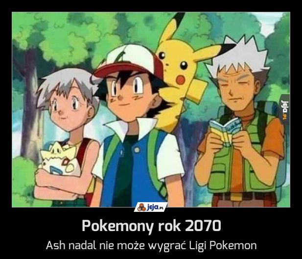 Pokemony rok 2070