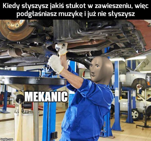 Będę mechanikiem