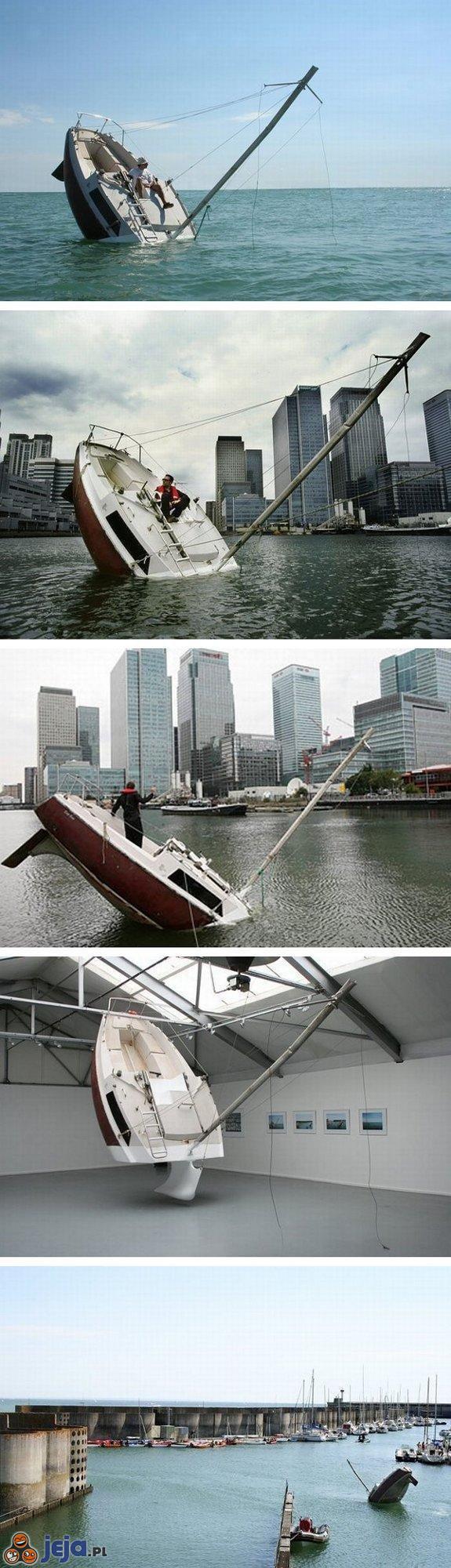 Tonąca łódka