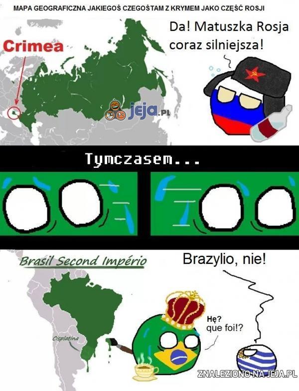 Co robisz Brazylio?