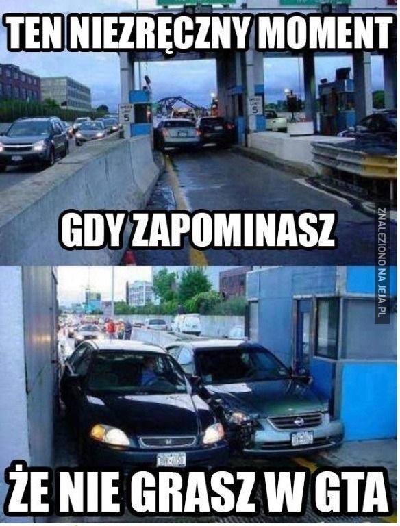 To nie GTA!