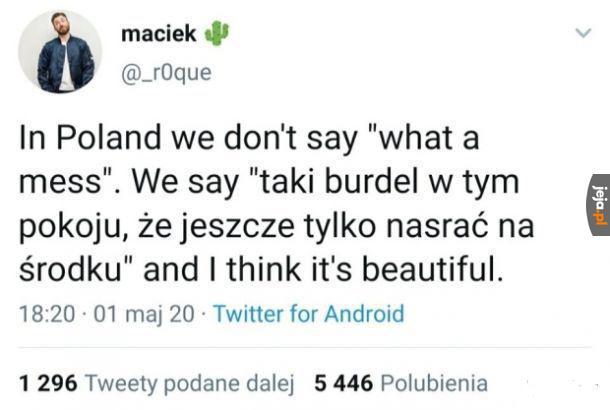 Piękny polski język