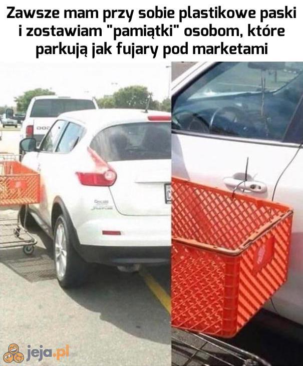 Parkingowy szeryf zawsze czujny