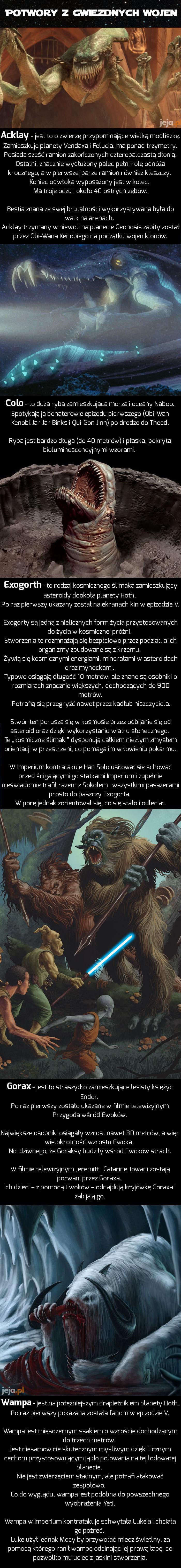 Potwory z Gwiezdnych Wojen