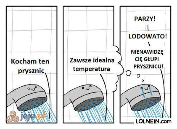 Biedny prysznic